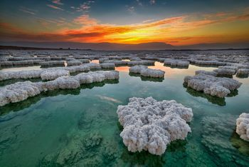 Welcome to the lowest place on earth - the dead sea