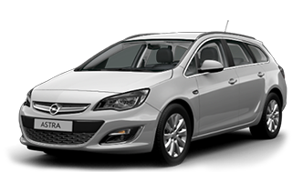 Opel Astra station wagon - car rental israel