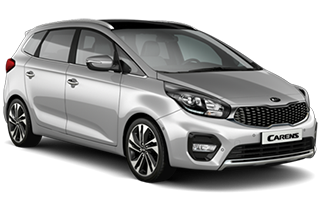 kia carens - car rental in israel