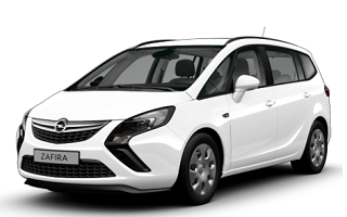 opel zafira - car rental in israel