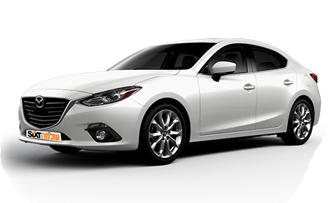 Mazda 3 - car rental Israel