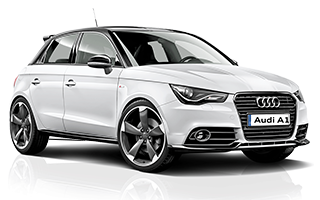 Audi A1 - car rental Israel