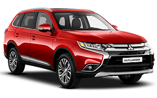 mitsubishi outlander - car rental Israel