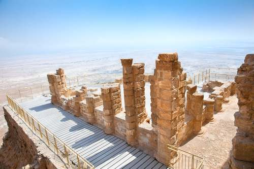 vacation in israel - masada
