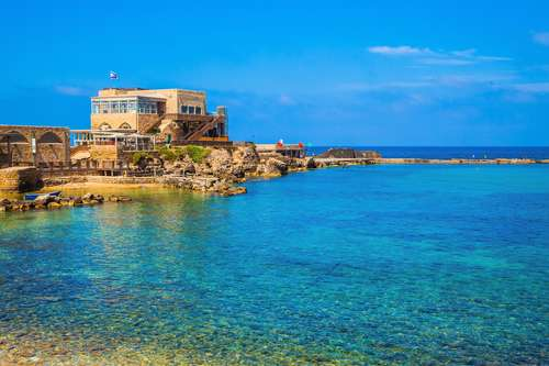 caesarea old harbor