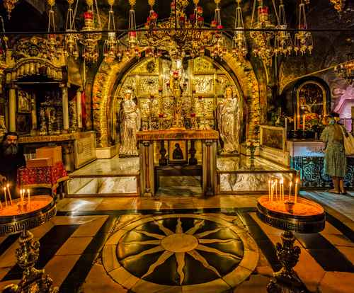 Holy place for Christianity